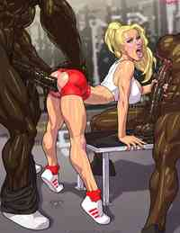 john person toons galls john persons gym slut finally boned hard