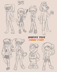 johny test cartoon porn pics pre johnny test comic cast morelikethis artists
