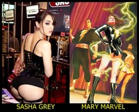 marvel cartoon porn pics porn star sasha grey mary marvel superhero