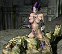 massive cock toons dmonstersex scj galleries sticking huge cock taut cave monster porn toons