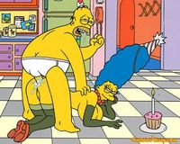 naked cartoons characters homer fucks marge bart simpson