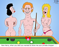 naked photos of cartoons prince harry