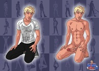 naked toon pics sexy blond twinky toon hard ready toons twink