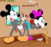naughty sex toons drawn scenes toon bdsm toons who like punish naughty slaves micky