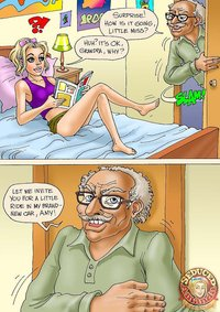 new cartoon porn pictures gnr seduced amanda grandpa his ride