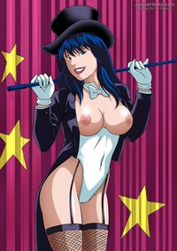 new toons hentai cfc justice league zatanna