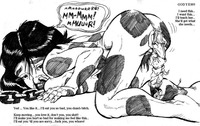 nude anime comic eea anime comic cow girl drawing giantess lactating monochrome nude