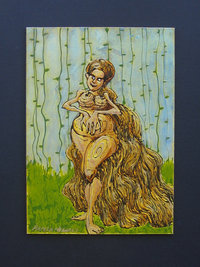 nude cartoon pic fullxfull listing whimsical original nude cartoon scribble