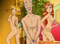 nude cartoons pics rated drawings totally spies getting fucked