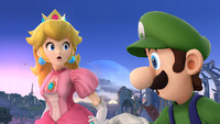peach toons porn super smash bros peach luigi princess horrified mario porn hentai