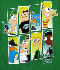 phineas and ferb porn comic bhip bffffff back phineas ferb disney super eight comic panel cast cartoon cool bento boxes