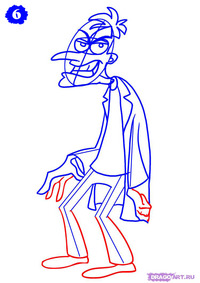 phineas and ferb sex toons how draw heinz doofenshmirtz from phineas ferb step toons candace flynn