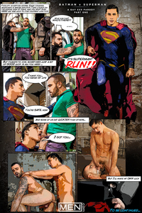 pics of comic porn batman supermancomic part superman xxx gay comics