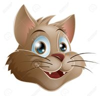 picture of cartoon pussy krisdog illustration cute smiling cartoon cat face stock vector clipart pussy