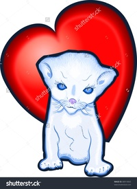 picture of cartoon pussy stock photo red heart pussy pic