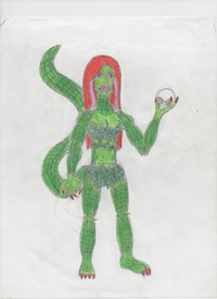 Right! Killer croc and poison ivy