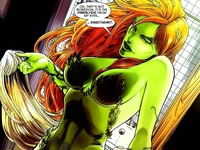 poison ivy porn comic ivywallpaper hottest redheads guys gals comics