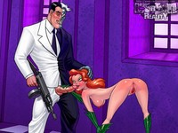 popular cartoon sex pictures galleries cartoonreality poison ivy drilling badly pic