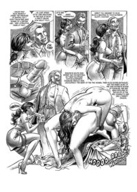 porn cartoon strips hilda bdsm comics chapter part hanz kovacq porn