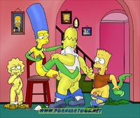 porn cartoon simpsons marge simpson lisa bart homer porncartoon
