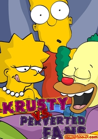 porn comics and toons krusty perverted fans simpsons
