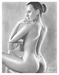 porn drawings gallery medium large original pencil drawing nude woman olga bell featured
