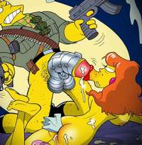 porn pictures toon pics cartoon porn toon party simpsons mindy simmons