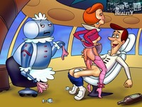 porn sex toon hot cartoon porn pics jetsons journey planet