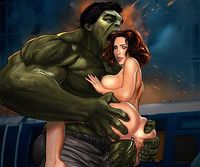 porn sex xxx cartoon bbfece black widow avengers hulk smash rickyzbz cartoon