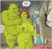 porn sexy toon media original shrek fiona donkey cartoon cartoons chel porn