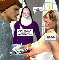porn toons 3d media original mature toons meaty older woman witch wedding humiliation part trois