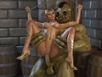 porn toons 3d crazy monster porn girl tight pussy rammed
