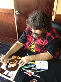porn toons free mick foley signing autograph bearman cartoons
