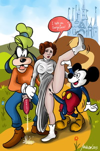 princess porn toon gallery mickey fucks princess leia cartoon action