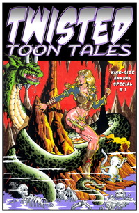 red toon porn twisted toon tales king size annual tmp
