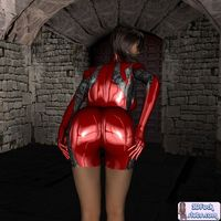 red toon porn galleries ebad gallery toon babe skin tight shiny red latex bdnh quyv