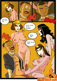 sex adult toons gotofap school fight avatar last airbender comics toons