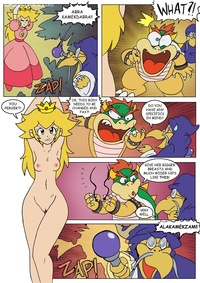 sex comic porn peach tail escape peachs comic