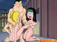 sex comic toons american dad francine smith hayley stan comics toons