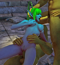 sex in toons dmonstersex scj galleries stuffing mouth jizz demon toons