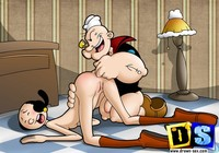 sex porn cartoons popeye champ