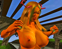 sex toon boobs dmonstersex scj galleries monster groping awfully huge boobs toons