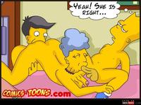 sexy comic toon wmimg sexy toons simpsons comics cartoon comic