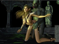 sexy girl toons monster pics ogre porn trapped sexy elf female cartoons