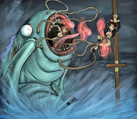 sexy naked cartoon pictures dmonstersex scj galleries unlucky sexy naked cartoon babes attacked giant anglerfish like monsters