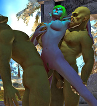 sexy porn toons dmonstersex scj galleries menacing orcs hunting sexy flesh monster porn toons