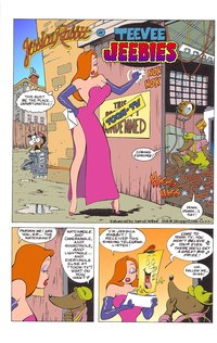 sexy toon comic media original comics jessica rabbit teevee jeebies sexy toon comic