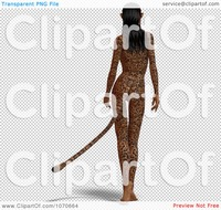 sexy toons free clipart sexy jaguar woman royalty free cgi illustration portfolio jkerrigan orange spikes