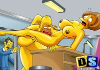 sexy toons free cartoons free pics simpson licks pussy bart simson dick yeah dont think check here