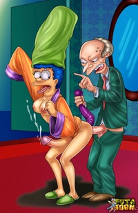 she male porn cartoons galleries simpsons shemale porn